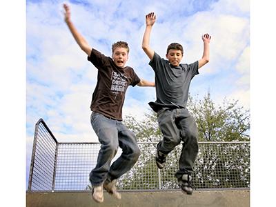 Skater drenge