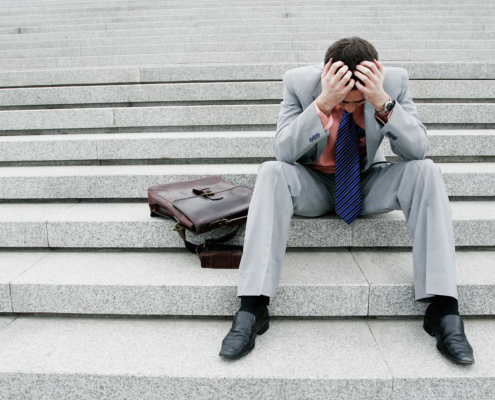 Arbejdsløs pga. coronakrisen